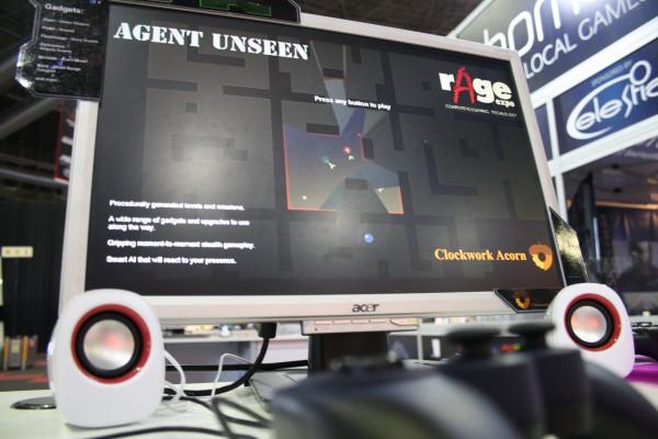 Unseen on display